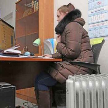 Температура в офисе